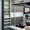 Space saving kitchen cabinet